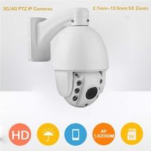1.3MP  3G 4G Sim Card  P2P  Wifi  IP  cameras   5x  auto  zoom  long  night vision  PTZ  CCTV  Cameras