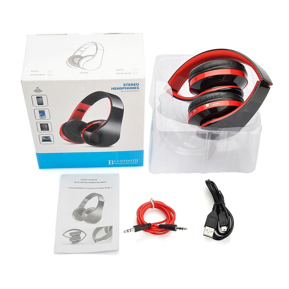 22337e38790 Headfone Casque Audio Bluetooth Headset Big Earphone Cordless Wireless  Headphone for Computer PC Head Phone iPhone