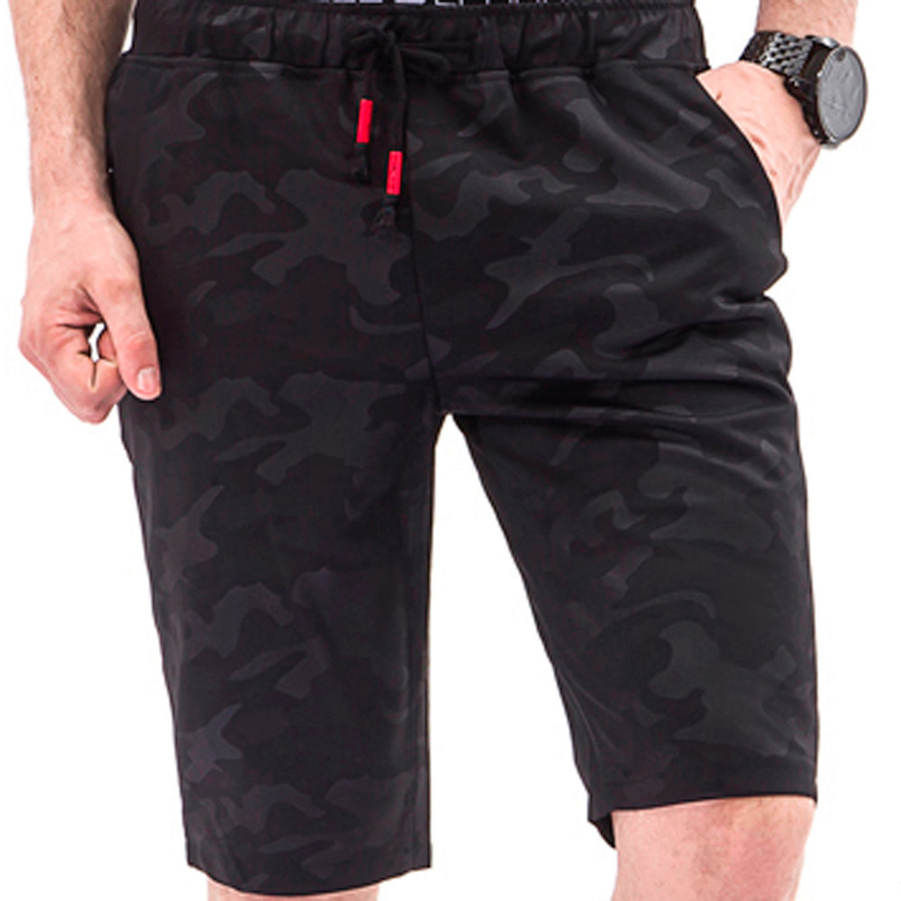 New Hot Fashion Men Camouflage Overalls Casual Pocket Beach Work Casual Trouser Shorts Pants For Male Drop Shipping