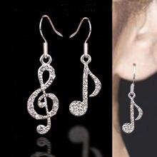 Hot Women Crystal Drop Earrings