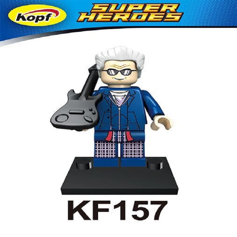 Super Heroes Peter Capaldi Dr.Who Figures Christopher assemble Building Blocks Children Collection childrens gifts Toys KF157