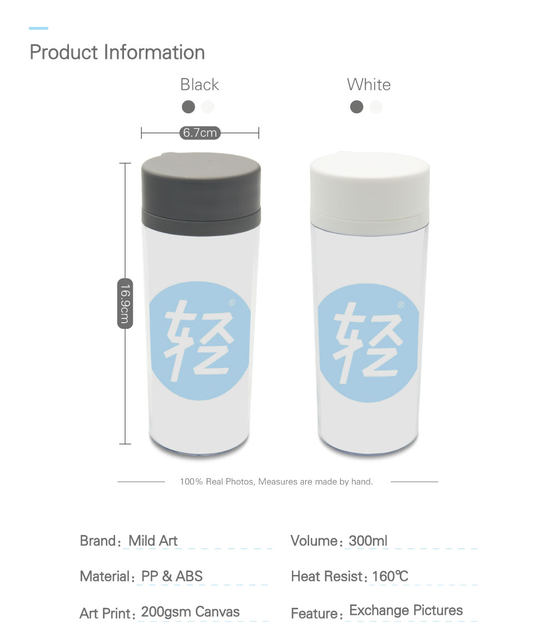 online shop personalized wide mouth bpa free lid plastic insulated