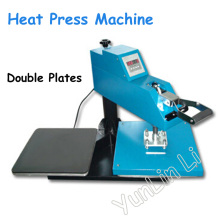 Double Plates Heat Press Machine Manual Shaking Head Printer High Quality Printing Machine HP3805D