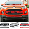 For Ford EcoSport F150 Style Front Hood Center Grille Grill Car Styling Auto Accessories 2012 2013