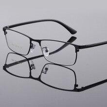 aa8543ff7ce4f Flexível Armações de Óculos Ópticos Armações de óculos Homens Moda Eyewear  Para O Negócio Quadrado Óculos