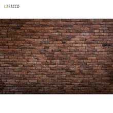 Laeacco Old Dark Brick Wall Stacked Party Wallpaper Portrait Photography Backgrounds Photographic Backdrops For Photo Studio