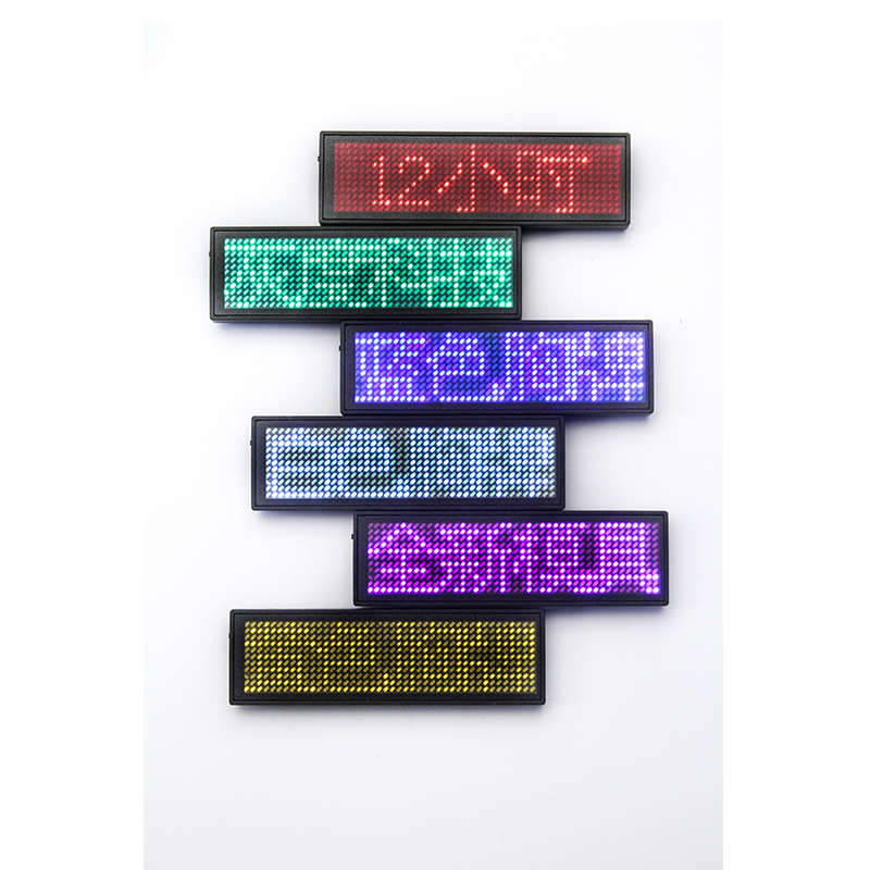 все цены на A+ 48*12 Pixels Single Color LED Name Badge Tag ,Programmable LED Digital Scrolling Message Name Tag (Red/Blue etc) онлайн