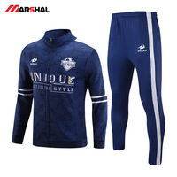 Wholesales for custom made gym crew neck sports football tracksuit for mens Customized professional wholesale free