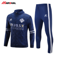 Wholesales for custom made gym  crew neck sports football tracksuit mens Customized professional wholesale free