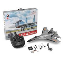 SU-27 High Simulation RC Warplane Ultra-light EPP Impact Resistnce 3-Channel Remote Control Fighter Plane Airpalne Model Toys цена и фото