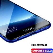 9D Tempered Glass For Huawei Y5 2019 Y6 Pro Y7 Y9 2018 Lite Screen Protector On Y 5 6 7 9 Y6Pro Y7Pro Protective