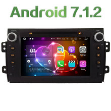 "2GB RAM 4G Wifi 8"" Android 7.1.2 SWC DAB+ RDS Car DVD Multimedia Player Radio Stereo For Suzuki SX4 2006-2013 GPS Navigation"