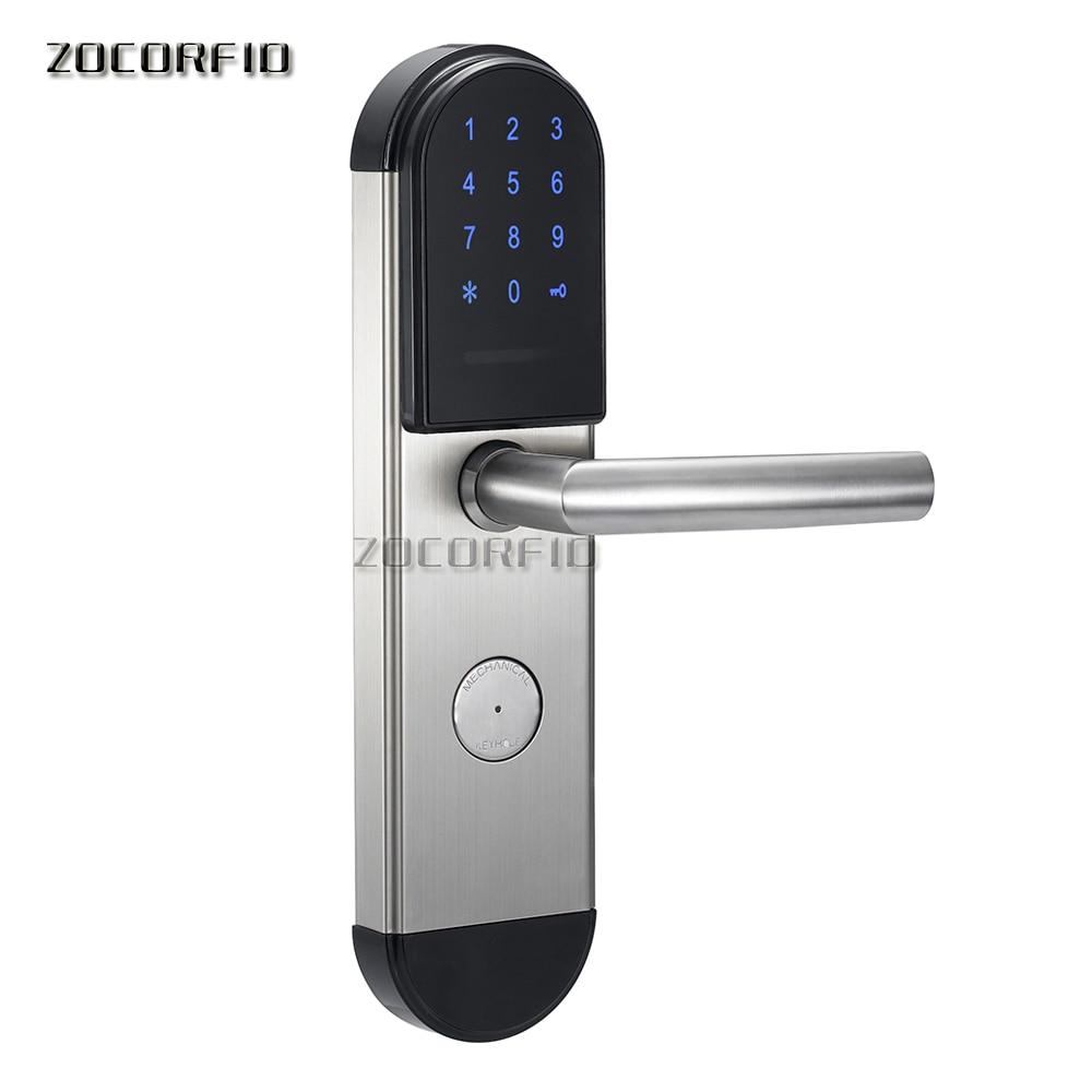 DIY 13.56MHZ NFC Lock For Home Anti-theft Door Lock Keyless Smart Lock With Digital Password RFID Unlocked