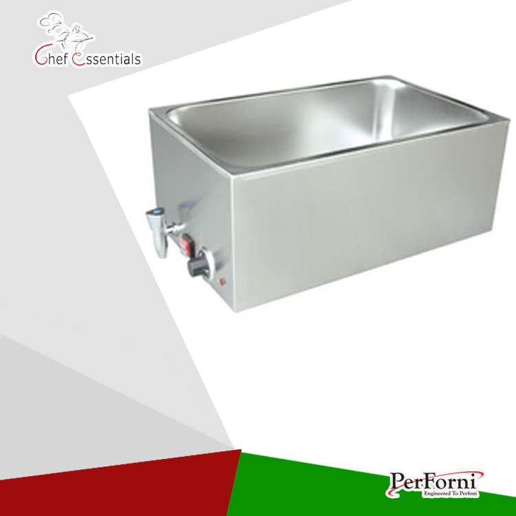PKLH-165BT Electric bain marie table food warmer stainless steel  hotel restaurant buffet machine