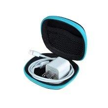 Случайный цвет Клип держатель клип диспенсер стол органайзер сумки наушники кабель наушники сумка для хранения