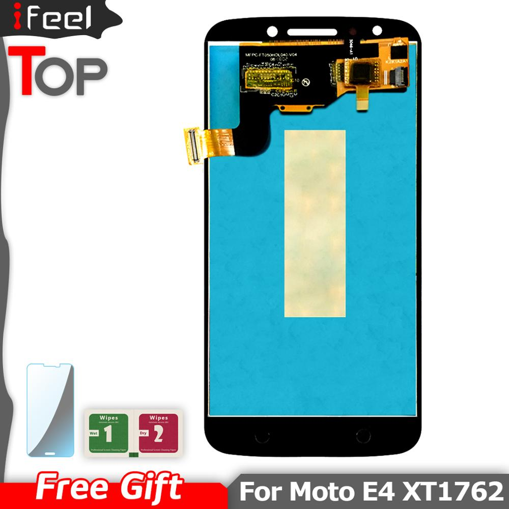 5.0inch For Motorola Moto E4 <font><b>XT1762</b></font> <font><b>LCD</b></font> Display + Touch Screen Digitizer Assembly Replacement image