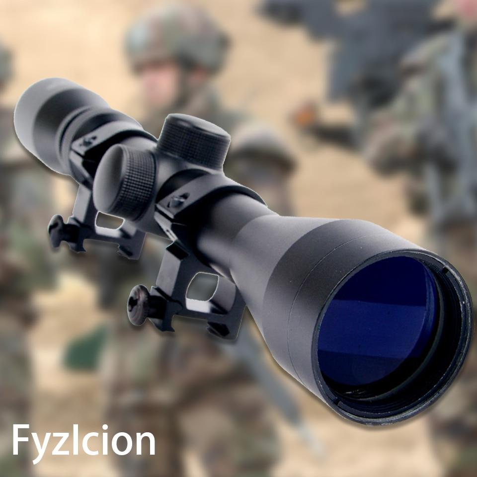 Hunting 3-9X40 Riflescope Air Gun Riflescope Air Optics Scope with 20mm Rail Mount for 20mm Picatinny Rail цена