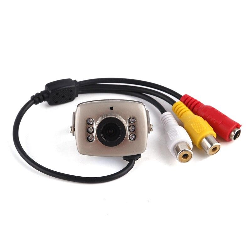 OWGYML Mini Home Security IP Kamera Wireless Infrarot Nacht Vison Nicht leuchtende Überwachung Kamera Netzwerk Kamera Überwachung