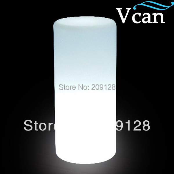 Waterproof RGB rechargeable lithium battery LED Cylinder Lamp VC-B1636 in 2016 free shipping 4000g fake pregnancy belly twins pregnant baby belly test pregnancy drop shipping wholesale