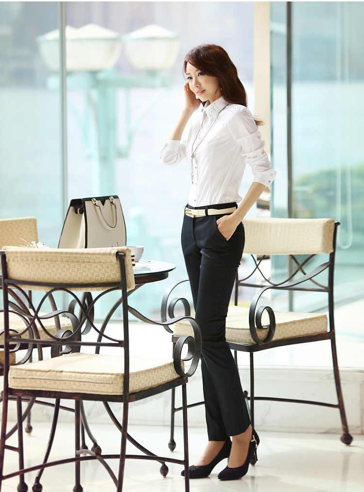 2020 décontracté crayon pantalon femmes bureau dame affaires travail pantalon femme été kaki et noir couleur quotidienne pantalon grande taille XXXL