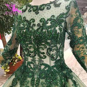 Image 3 - AIJINGYU ウェディング衣装ガウンヴィンテージ王女の母ショートプラスサイズゴシックドレス結婚式