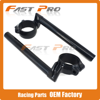Motorcycle Fork Tube Adjustable Handlebars Rise Clip on Wheel Steering For HONDA CBR1000RR RVT1000R RC51 CBR954RR CBR929RR