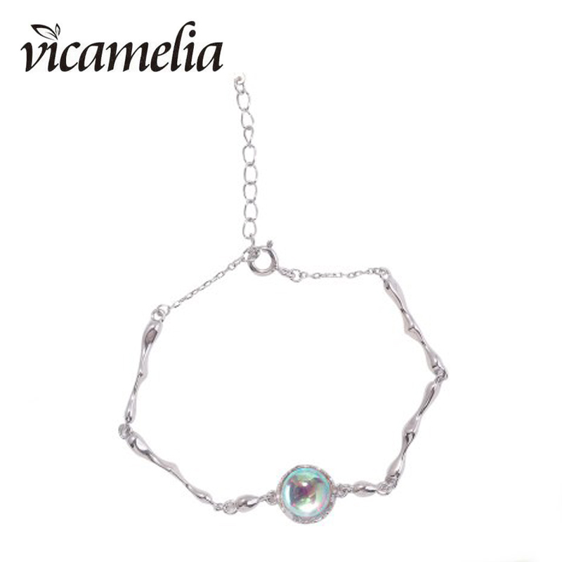 Vicamelia Fantasy Dream Bamboo Charm Bracelets Mysterious 925 Sterling Silver For Women Gifts 207
