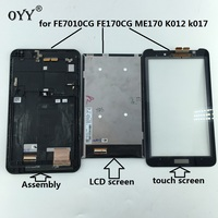 Capacitive Touch Screen LCD Display Digitizer Glass Assembly With Frame For ASUS Fonepad FE7010CG FE170CG ME170