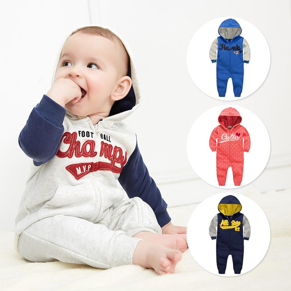 2016 spring autumn baby boy clothes bebes jumpsuits  clothing infant  Long Sleeve Hooded rompers girl clothes Newborn Costume