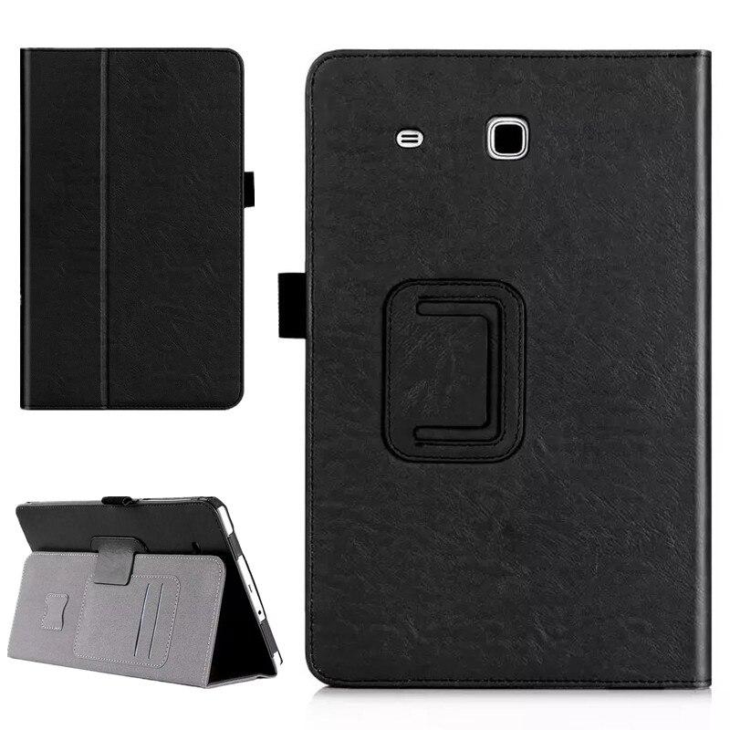 עבור Samsung Galaxy Tab E 9.6 T560 T561 PU עור לעמוד - עזרים לטאבלט