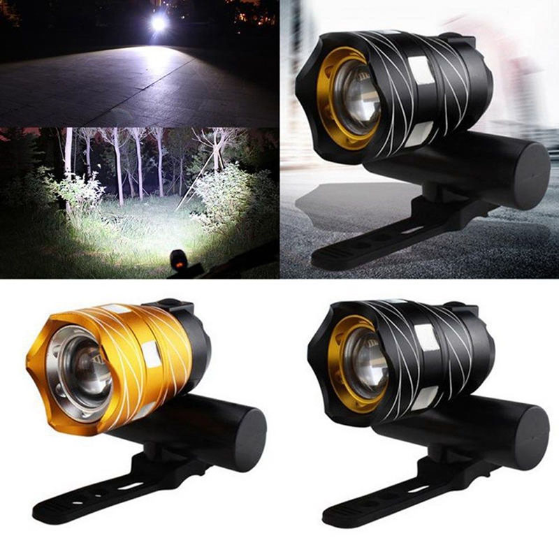 ROBESBON Bicycle Light USB Rechargeable Super Bright Lumens 3 Options Waterproof Powerful Front Headlight