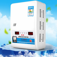 Digital display 15000W 220V Refrigerator air conditioning power Automatic single phase ac Regulated power supply FREE SHIPPING