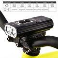 NITENUMEN X8 перезаряжаемая велосипедная фара  водонепроницаемая  1800 люмен  USB LED  высокая производительность  18650  li-ion  USB зарядка  велосипедный фо...