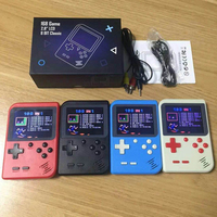 For Retro Mini 2 Handheld Game Console Emulator built in 168 games Video Games Handheld Console
