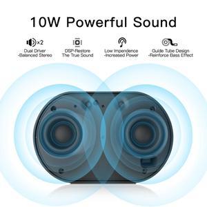 Image 2 - Alto falante portátil ggmm e2, bluetooth, wi fi, sem fio, 10w, potente, bluetooth blutooth 15h de tempo de reprodução com alexa alto falante inteligente,