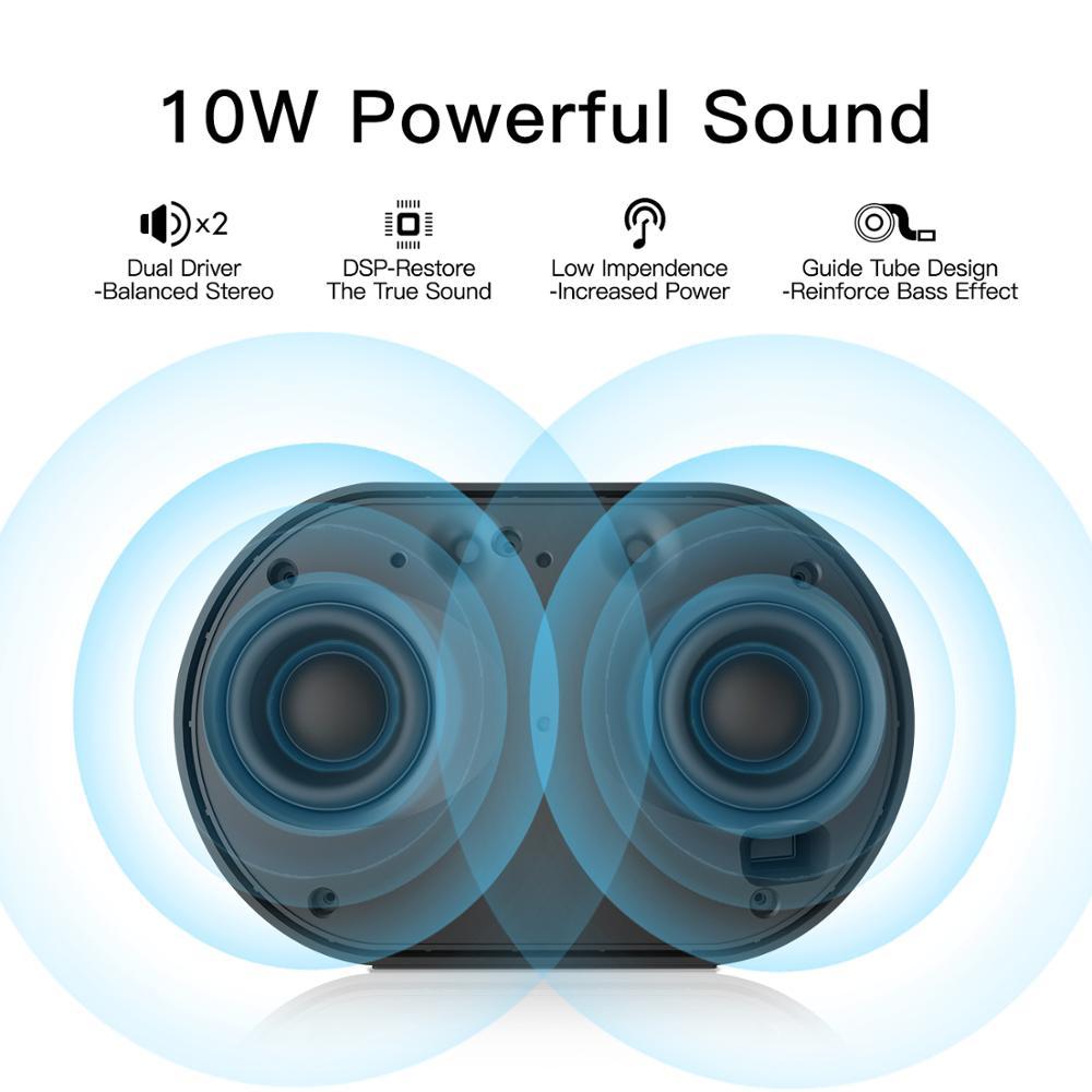 Image 2 - GGMM E2 Bluetooth Speaker WIFI Wireless Speakers 10W Powerful  Portable Bluetooth Soundbar 15H Play time With Alexa Smart  Speakerbluetooth speakerwireless speakerportable speaker