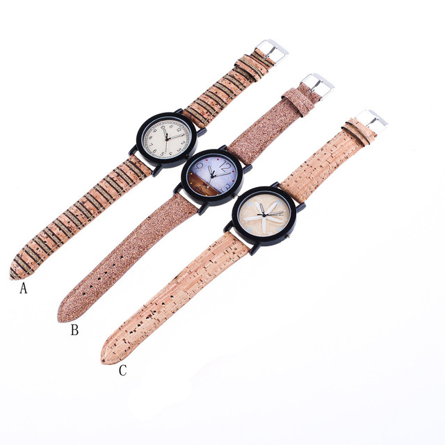 Duobla Brand Women watch lady gift girl Retro Design Lovely Cartoon animal Leather Band Analog Alloy Quartz Wrist Watch 2019 30Q