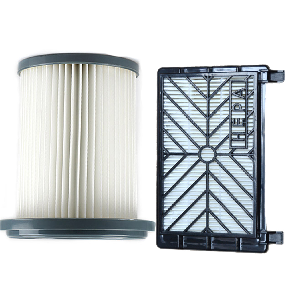 2pcs Vacuum Cleaner Accessories HEPA Filters+12cm Filter Element For Philips FC8712 FC8714 FC8716 FC8720 FC8722 HEPA Filter