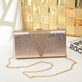 The new diamond evening bag clutch bag banquet bag ladies diamond female evening bag with golden diamond