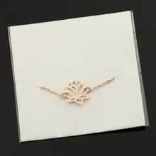 Elegant Lotus Flower Women's Anklet