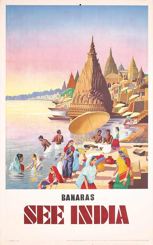 Vintage India viaje India Air India Moscú Retro póster lienzo pintura DIY pared papel carteles hogar Decoración regalo