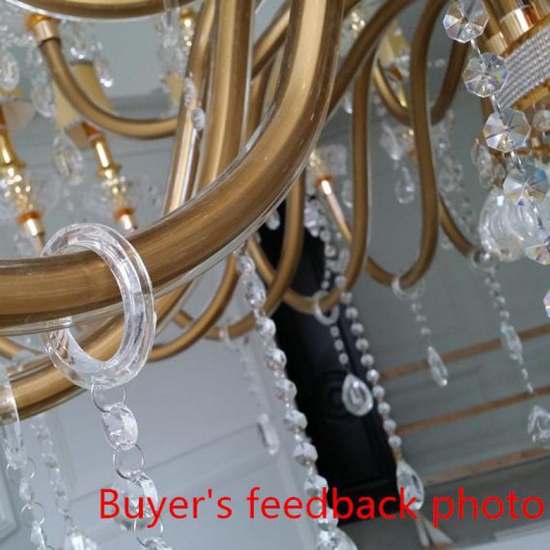 Uriașe 48 buc Modern candelabru iluminat led lumina corpuri pentru - Iluminatul interior - Fotografie 2
