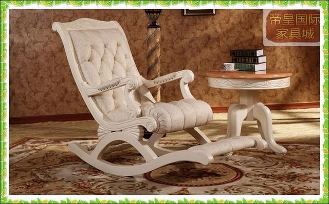 Amerikaanse mode schommelstoel lounge stoelen noble stijl in