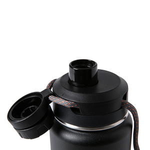 Image 2 - Santeco 710ml Thermos Bottle With Rope Double Wall Stainless Steel Coffee Tea Milk Outdoor Gift Vacuum Bottle