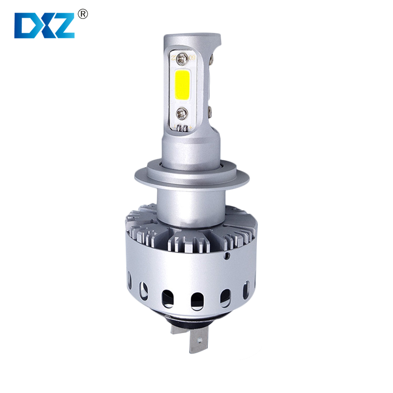 H4 DXZ Car Headlight External Car Styling LED Lamps 2 Bulbs A Set 12V For BMW