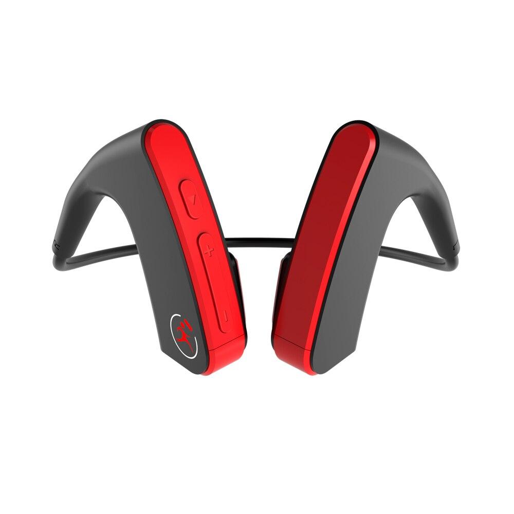 Casque de Conduction osseuse E1 sans fil Bluetooth Sports de plein air casque de basse bon sport durable écouteurs de tour de cou en cours d'exécution