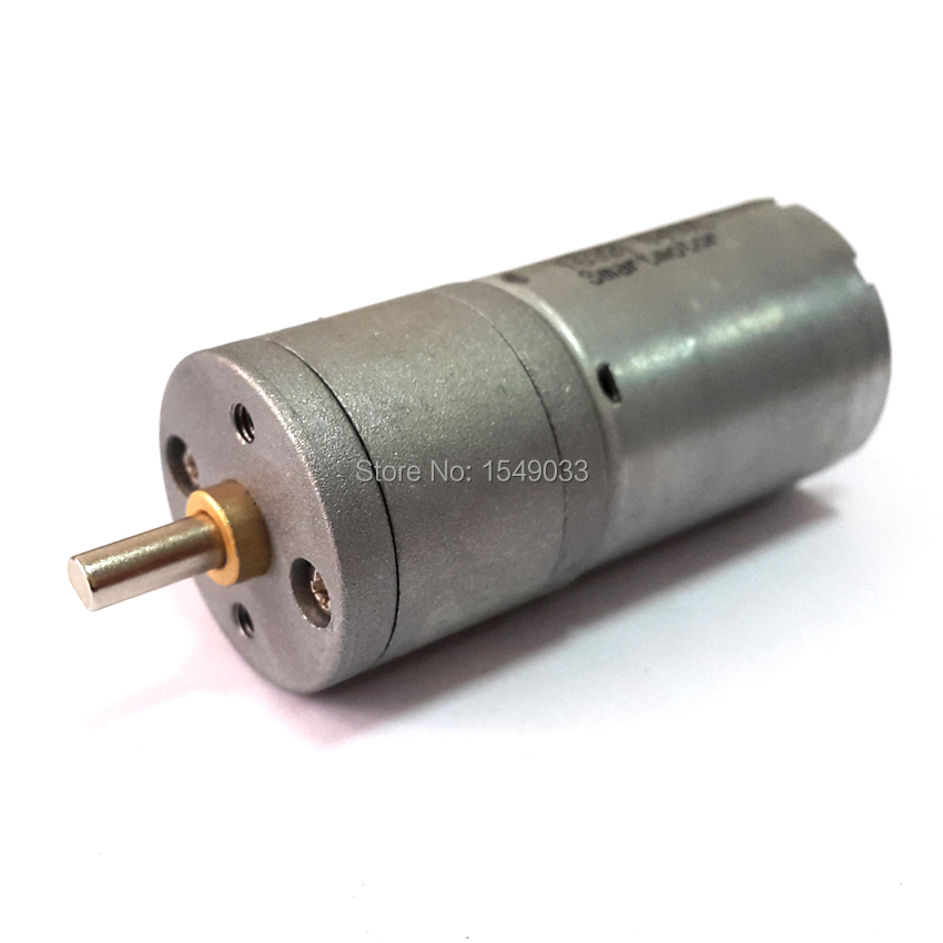 12mm 6V DC 300RPM High torque Gear Box Electric Motor Mini replacement Machinery