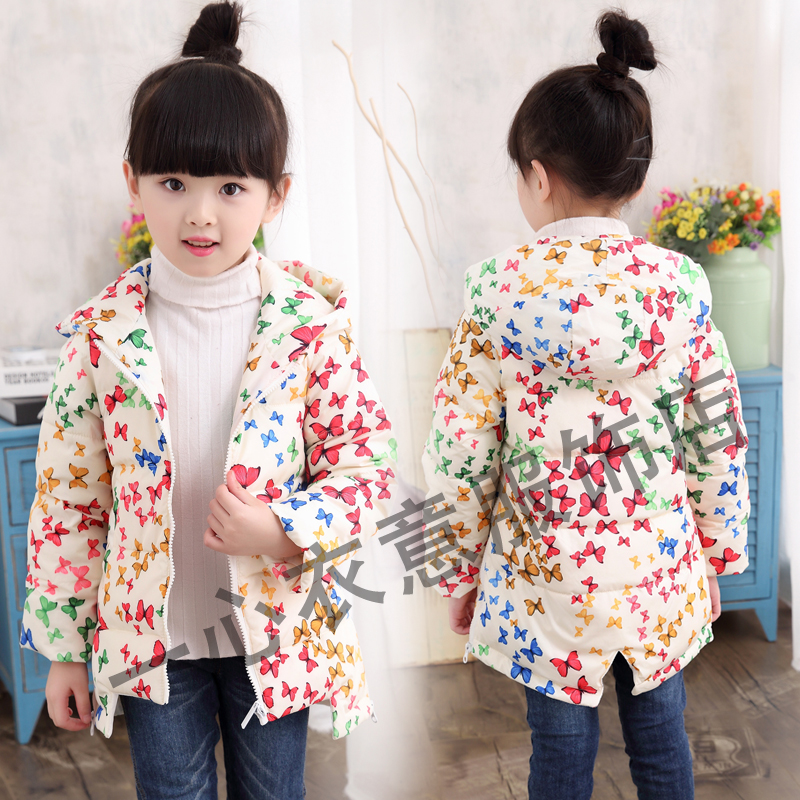 2017 new winter jacket children's clothing for girls 3-12 years old 2017 winter coat grandma installed in the elderly women 60 70 80 years old down jacket old lady tang suit