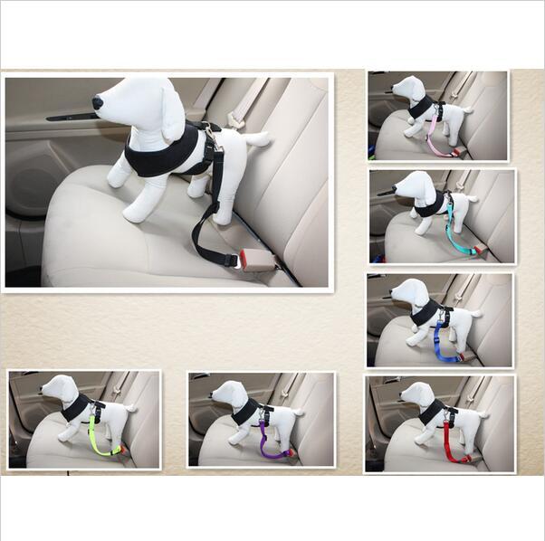 Productos Para Mascotas Pet Durable/Perros Travel Car Seat Belt Clip Lead Restri