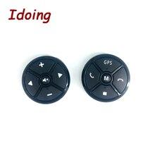 IDoing Автомобильный руль кнопка дистанционного управления DVD/2 Din Android Bluetooth беспроводной универсальный пульт дистанционного управления+ GPS навигация